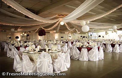 Fresno Weddings, And Fresno Wedding Receptions At The Great Fresno Fairgrounds