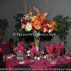 Reception Table With Fall Color Theme