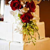 3 - Tiered Square Wedding Cake