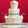Hand crafted cake in fondant