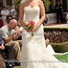 Elegant Fitted Strapless Wedding Dress