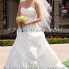 Strapless Wrap Wedding Dress