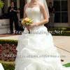 Skinny Strap Halter Top Wedding Dress