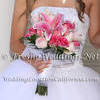 Elegant Pink Theme Bridal Bouquet