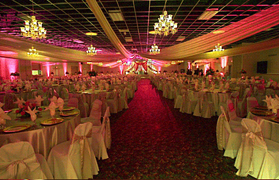 California wedding location, Golde Palace Banquet Hall, Ceremony Site, Fresno California.