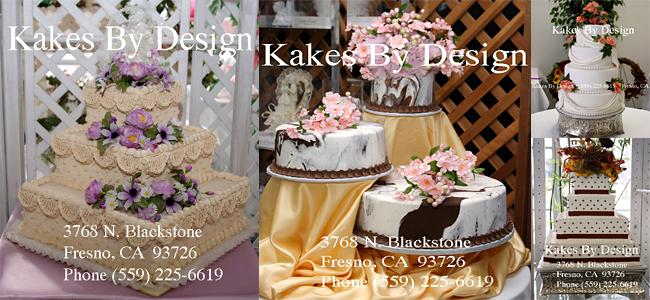 Kakes By Design (Fresno California Wedding Cakes) 559-225-6619