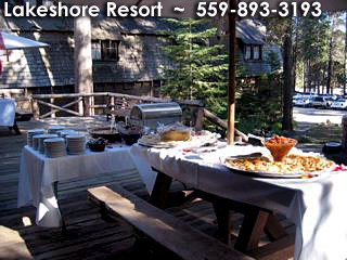 Shaver Lake Weddings, Lakshore Resort