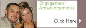Wedding Engagement Announcements