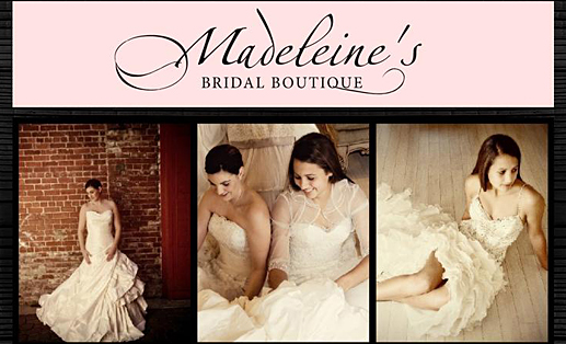 Fresno Bridal Shops, Madeleine's Bridal Boutique