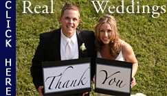 Real Weddings, Watch Videos - CLICK HERE