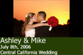 Ashley And Mike's - Fresno Outdoor Wedding
