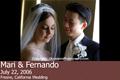 Mari And Fernando's Fresno Wedding and reception