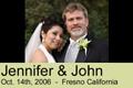 Jennifer And John's Fresno Wedding and reception