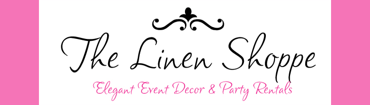 The Linen Shoppe, Chair Cover Rentals, Linen Rentals Fresno, Visalia, Central California
