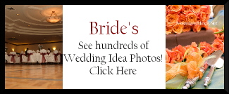 Wedding Idea Galleries, wedding cake photos, decor photos, banquet hall photos, and more!