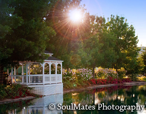 Outdoor Garden Wedding Location and Reception Venue, Wonder Valley Ranch Resort Northern California, Central California, Fresno, Visalia area